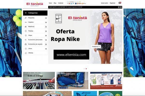 El Tenista - Online Store